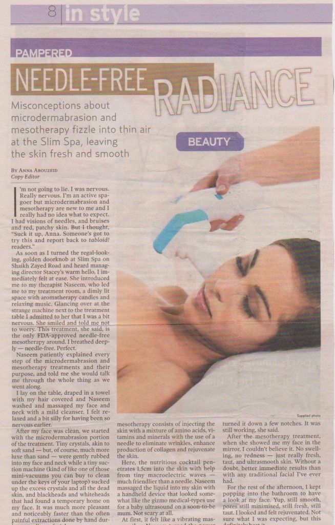 Pampered Needle-free radiance